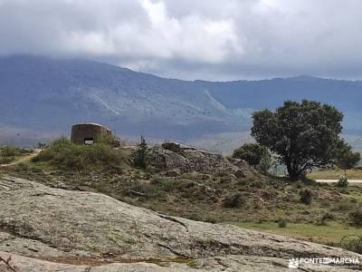 Frente Agua-Yacimiento Arqueológico Guerra Civil Española; comarca de la siberia grupos de senderism